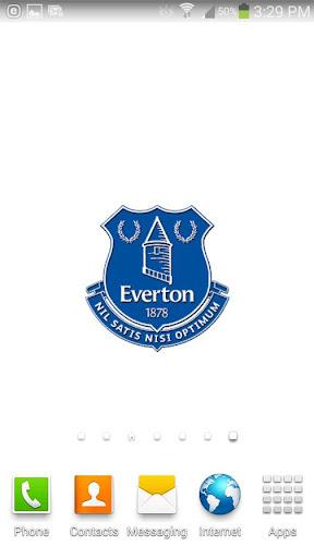 Everton FC Spinning Logo
