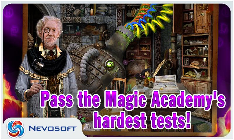 Magic Academy: hidden castle- screenshot