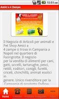 Screenshot of Amici a 4 Zampe