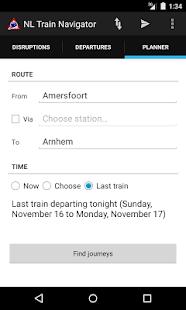 NL Train Navigator - screenshot thumbnail
