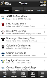 Tour of California Tracker - screenshot thumbnail