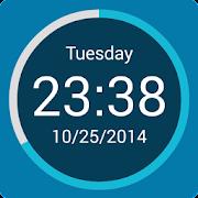 Round Clock Widget