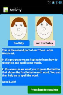 Three Letter Words Part 2 Free- screenshot thumbnail
