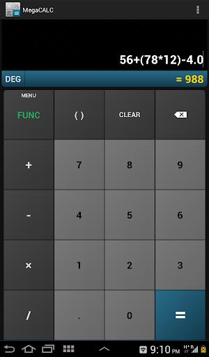 MegaCALC Scientific Calculator