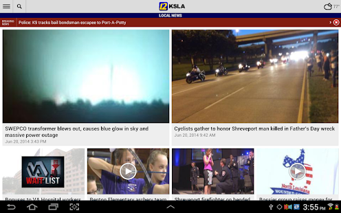 KSLA News 12 - screenshot thumbnail
