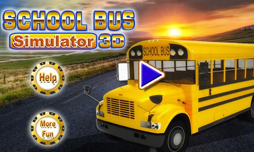 스쿨 버스 시뮬레이터 3D