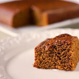 Classic Gingerbread Cake.