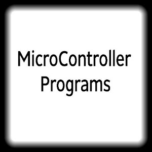 Pic MicroController Programs