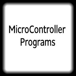 Pic MicroController Programs