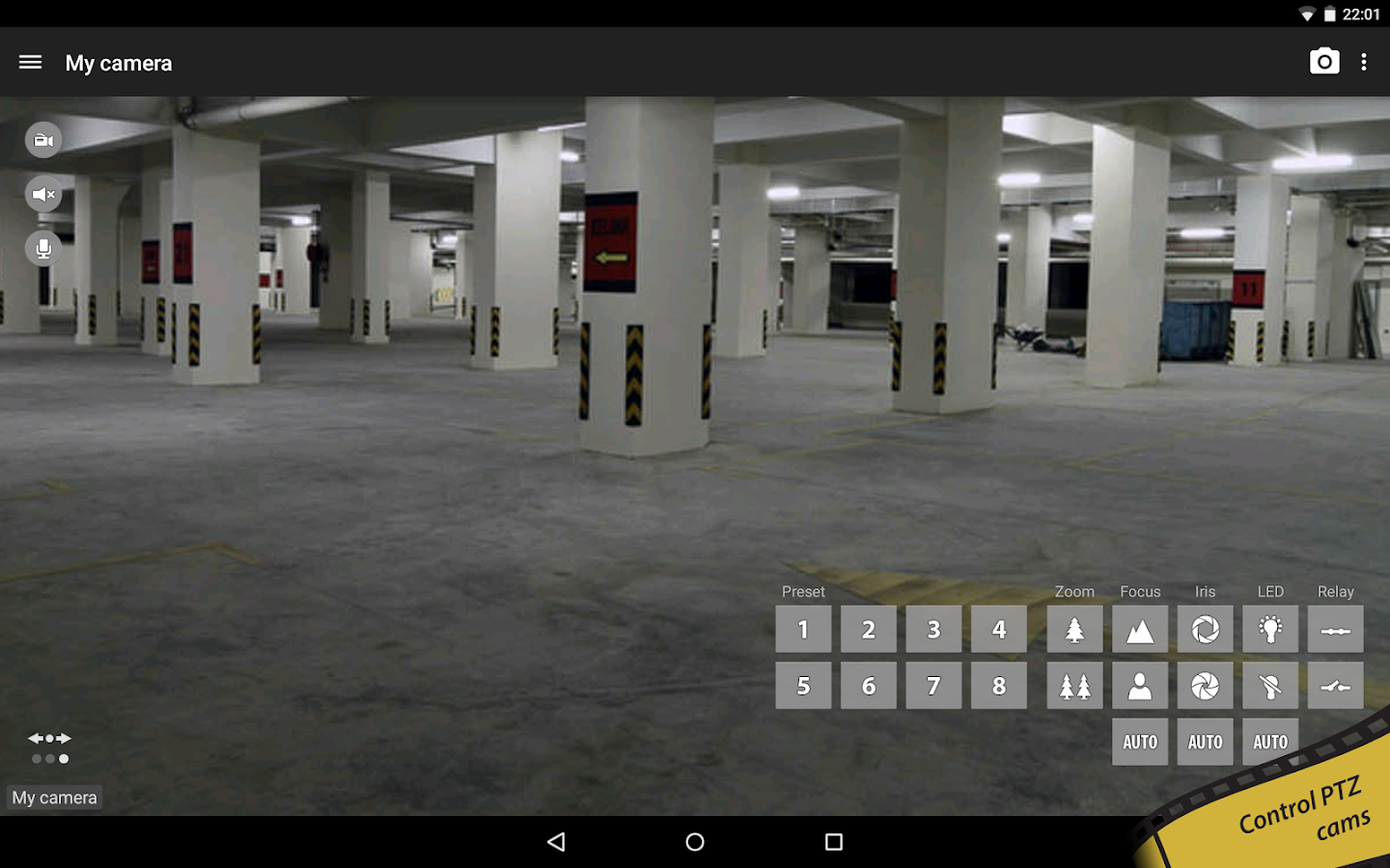 tinyCam Monitor FREE- screenshot