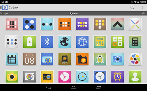 Cadrex - Icon Pack v1.0.1