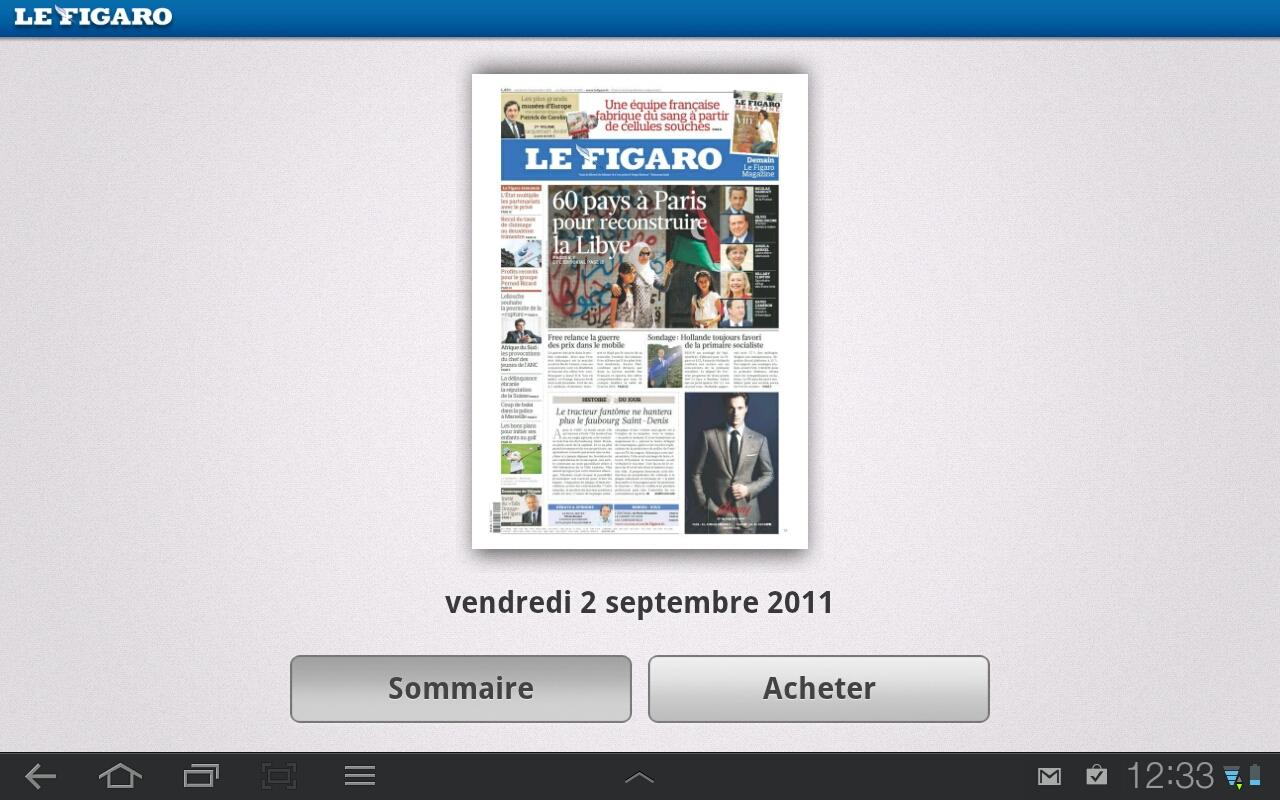le figaro journal magazines android apps on google play. Black Bedroom Furniture Sets. Home Design Ideas