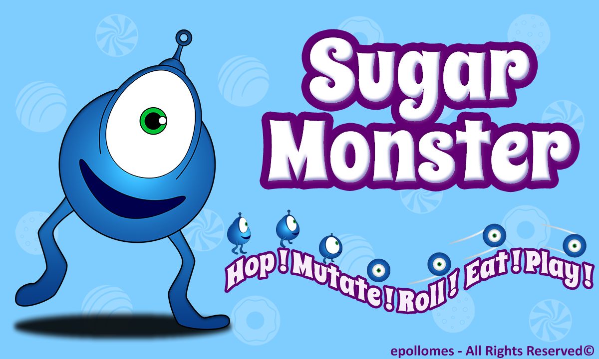 Sugar Monster - Hop Eat n Play - screenshot