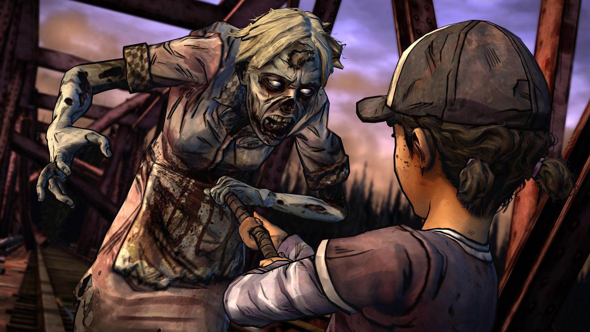The Walking Dead: Season Two screenshot #7