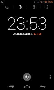 BetterKat CM11 Theme Orange - screenshot thumbnail