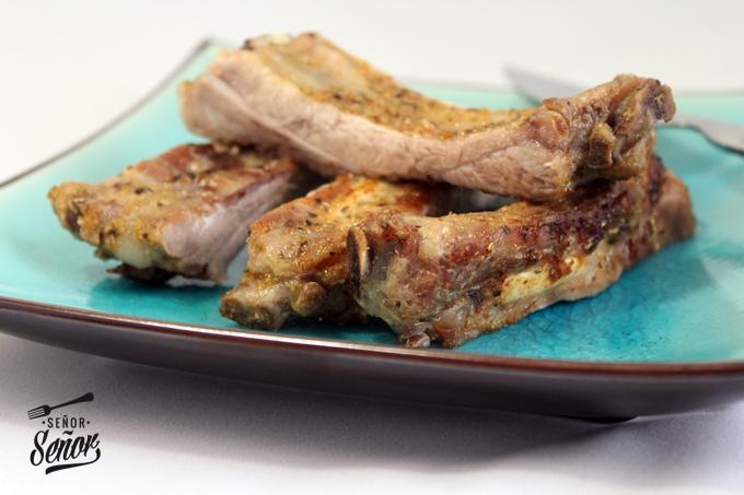 Baked Herb-Encrusted Ribs Recipe