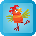 Animal match for kids toddlers icon