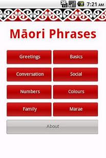 Maori phrases apps on google play screenshot image m4hsunfo