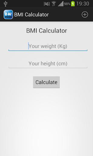 BMI Calculator - Ideal weight