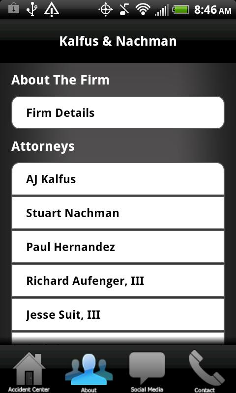 Kalfus & Nachman Injury Attys- screenshot