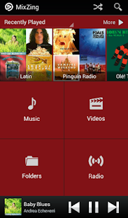 MixZing Music Player - screenshot thumbnail