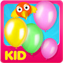 Balloons & Birds for Kids icon
