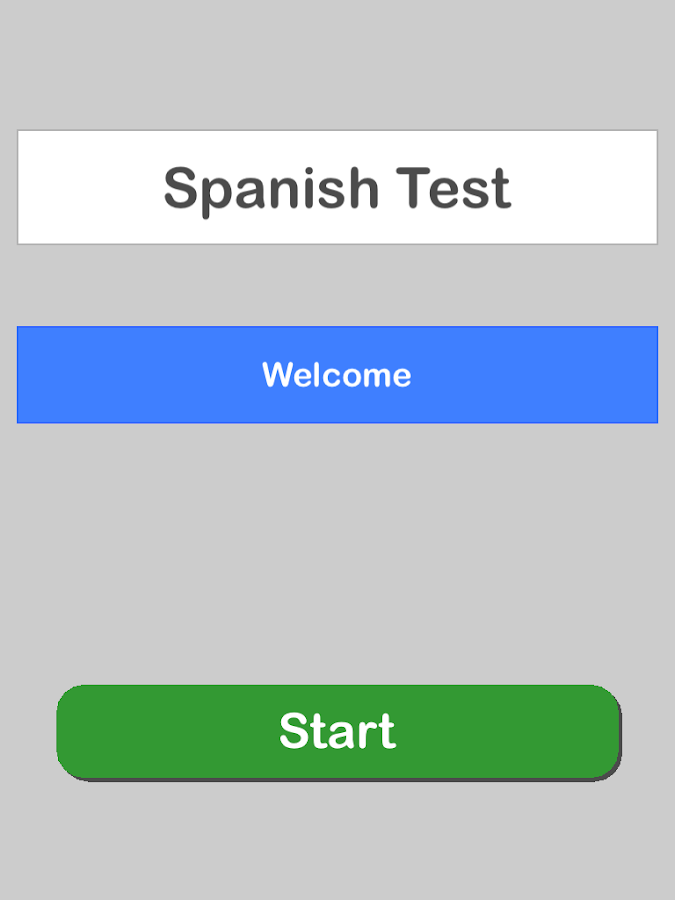 Spanish Test Pro- screenshot