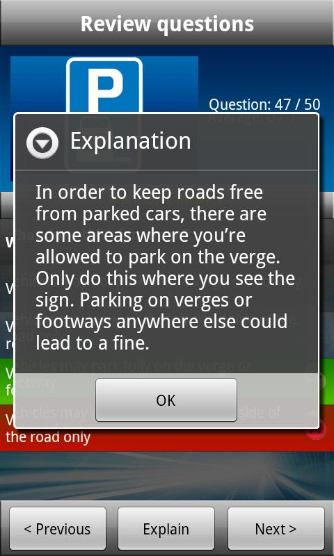 UK Motorcycle Theory Test Free - screenshot