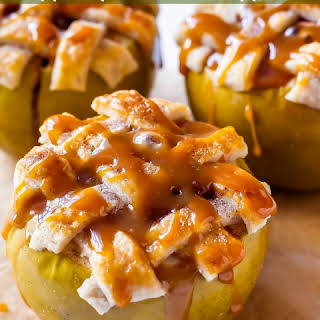 Apple Pie Baked Apples.