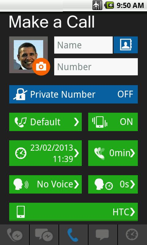 Fake Call & SMS - screenshot