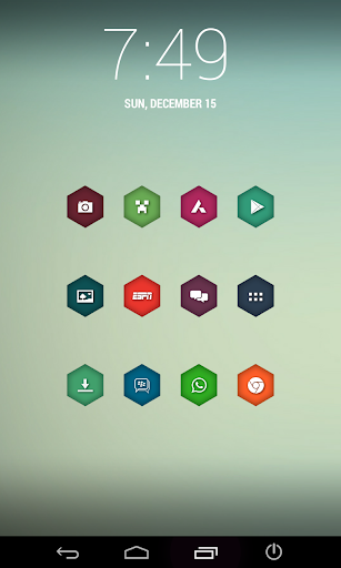 HexaShade Icons NOVA APEX GO