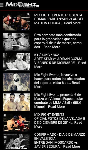 MIX FIGHT EVENTS