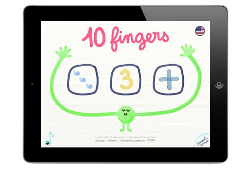 10 fingers +