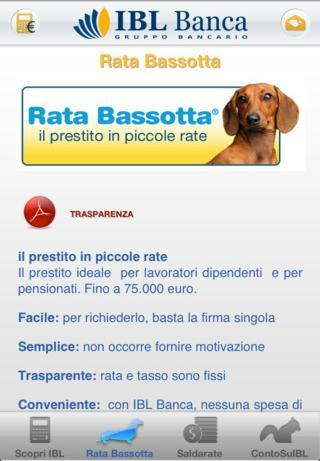 IBL Banca Mobile- screenshot