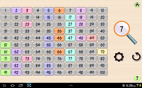Base 10 Number Grid 4 kids- screenshot thumbnail