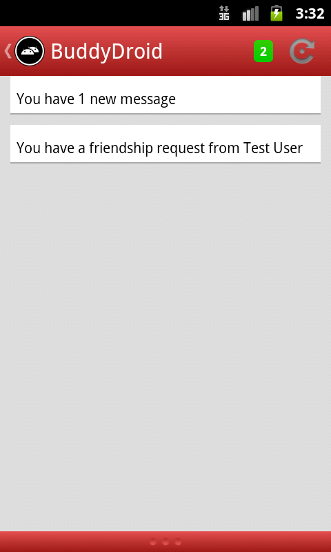 BuddyDroid - screenshot