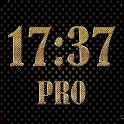 Gold digital clock PRO icon