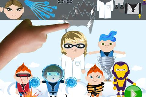 ClickySticky™ Superheroes- screenshot