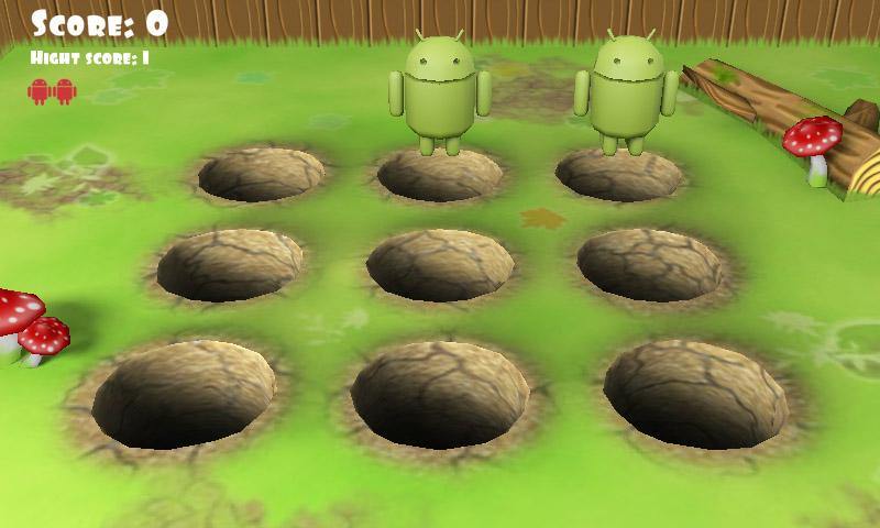 Whack Droid 3D - screenshot