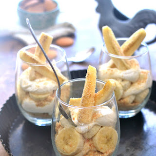 Banana Cream Cheesecake Parfaits