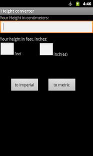 Height Converter- screenshot thumbnail