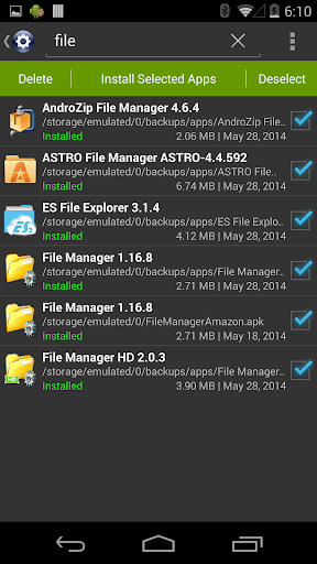 Installer - Install APK 3.4.2 screenshots 5
