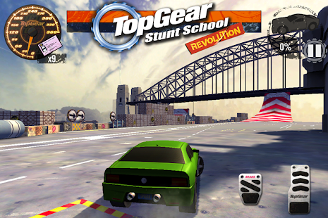 Top Gear: Stunt School SSR- screenshot thumbnail