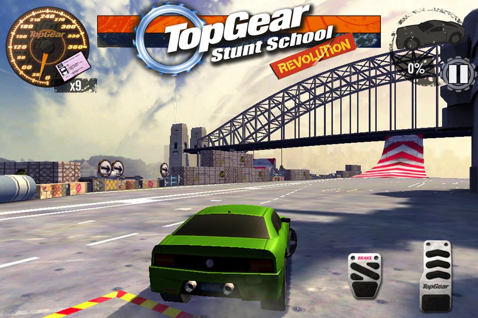 Top Gear: Stunt School SSR screenshot #6