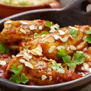 Moroccan Chicken With Saffron Honey.