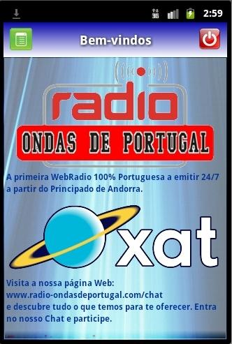 Rádio Ondas de Portugal - screenshot