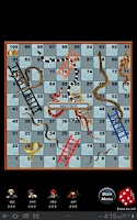 Screenshot of Snakes & Ladders