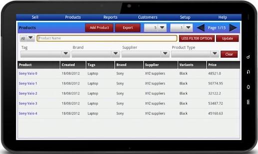 Bonrix RetailDesk POS - Native- screenshot thumbnail
