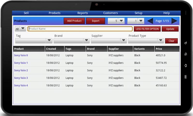 Bonrix RetailDesk POS - Native- screenshot