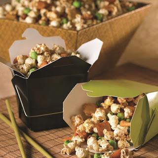 Asian Popcorn Snack Mix Recipe